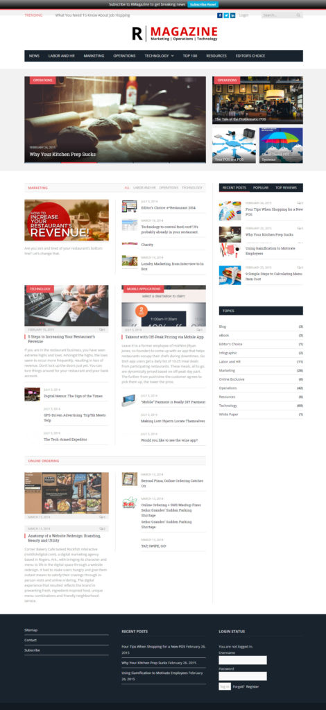 RMagazine home page